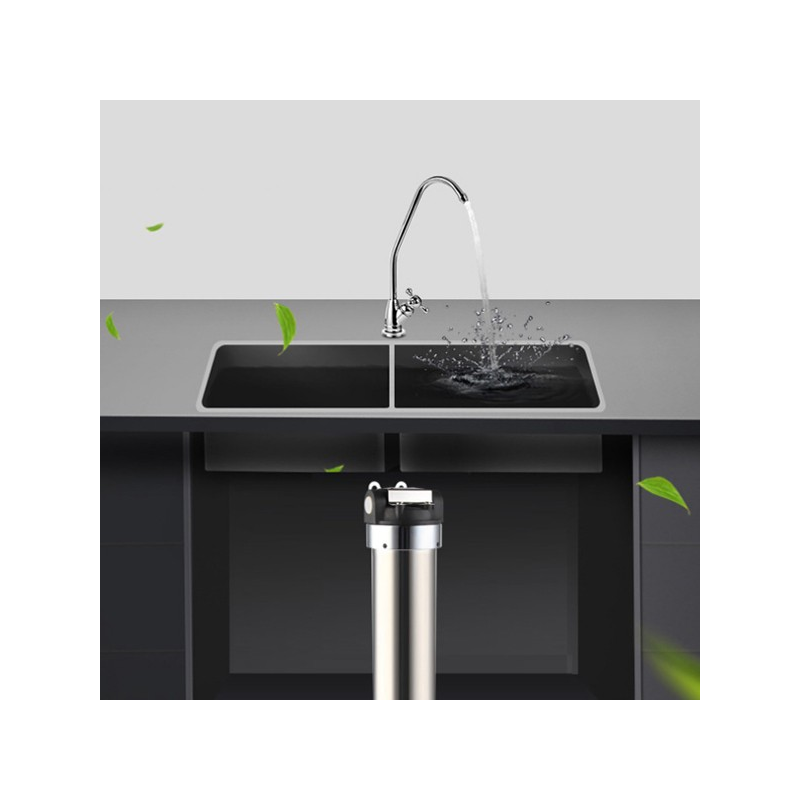 891 Bsy A3 Countertop Drinking Water Filter System Chrome By Aqua Blue ...