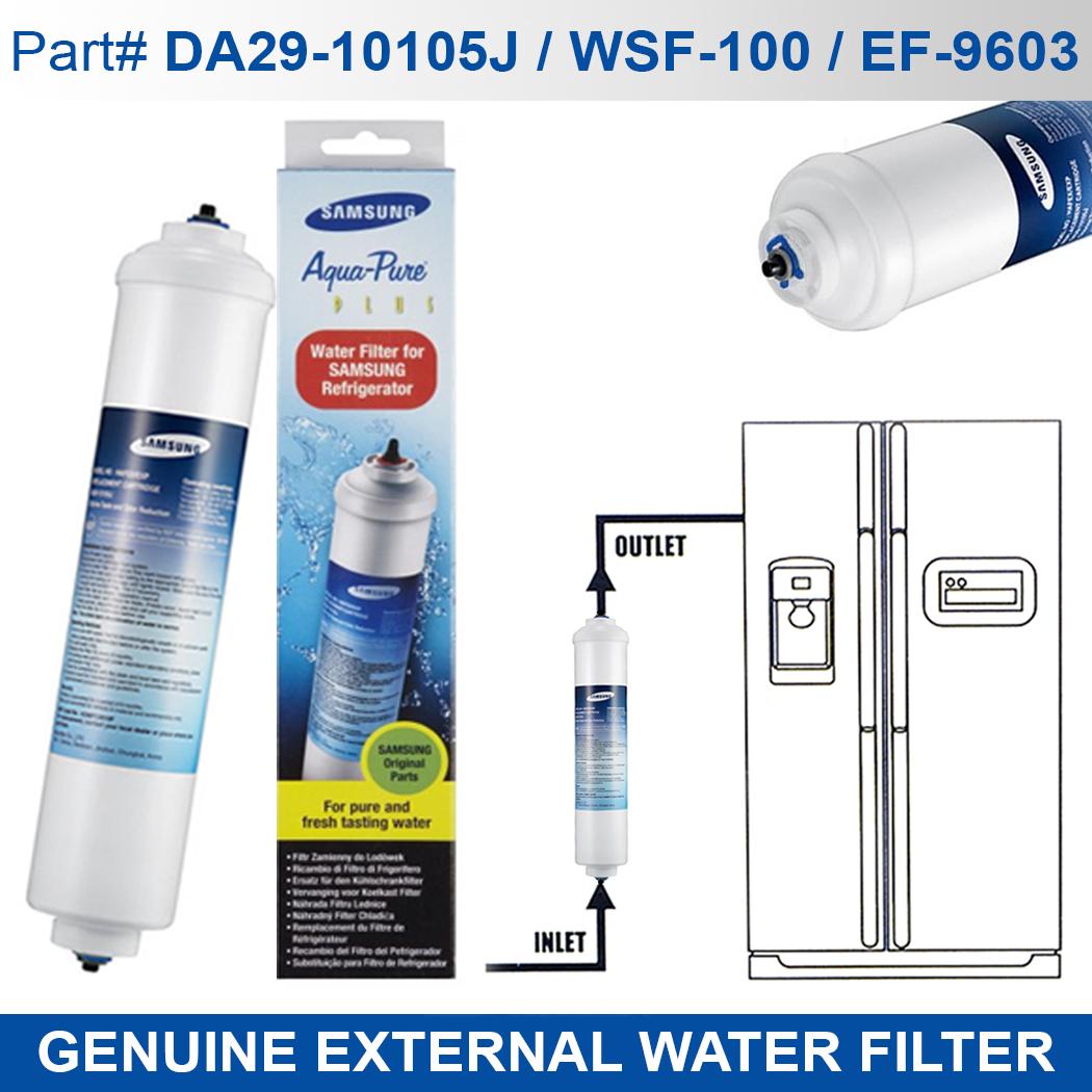 Fridge Filters 1x Genuine Samsung Aqua Pure Fridge Filter Cartridge Da29 10105j