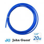 "John Guest 1/4"" Hose Tubing High Pressure Blue 1 Metre"