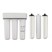 Doulton W9380002 HIP3 Triple Undersink Fluoride Reduction Water Filtration System with 3 filter candles