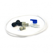 MOBILE HOME WATER FILTER SYSTEM SNAP SEAL  RV1 with DEDICATED FAUCET
