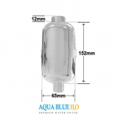 AQUA BLUE H20 High Output Chlorine Removing Showerhead Filtration System SHOWER FILTER SF450WF