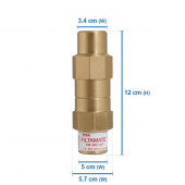 "FM350_FM350 Filtamate® - Pressure Limiting Valve 1/2"" in out"