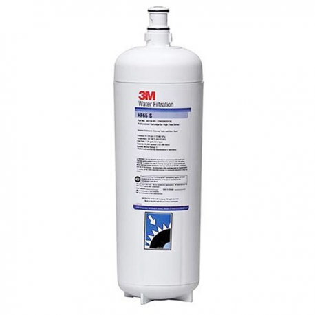 3M Purification-Food Service 5613409 Water Filtration Products Replacement Filter Cartridge, Model HF65-S