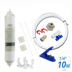 Whirlpool Genuine Fridge Filter 4378411 or  4378411RB Hose(10M) Kit