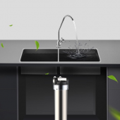 BSY-A3 Countertop Drinking Water Filter System, Chrome by AQUA BLUE H2O