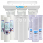 Undersink Untreated Water Filter System with Ceramic -PP- Carbon 3 Stage