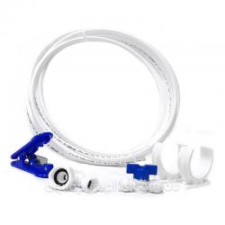 "Fridge Freezer Water Filter Pipe Tubing hose 1/4""  connection kit set Include  hose cutter"