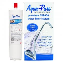 3M Aqua-Pure Premium AP8000 Undersink Water Filter System