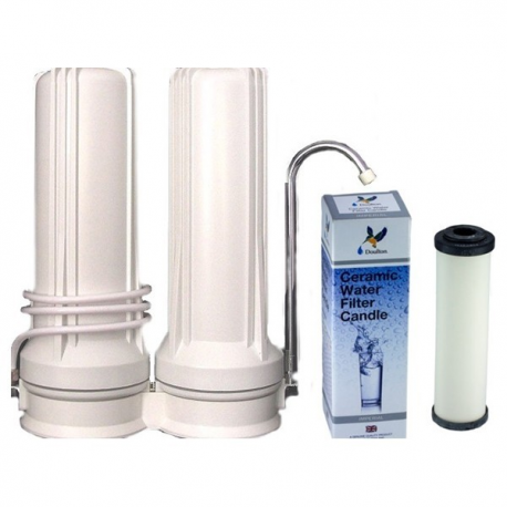 Doulton Ceramic Superblock Twin Benchtop Water Filter System 10