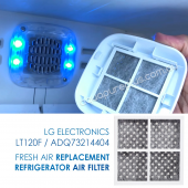 5231JA2012A LG Genuine Fridge Filter with Genuine Air Filter LT120F