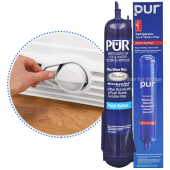 Pur W10186667 / 4396710 / 4396841 Push Button Refrigerator Water Filter Replacement