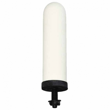 "Doulton W9121200 SuperSterasyl 7"" Ceramic Filter Candle w/Long Mount"