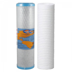 Aqua-Pure AP2200C Replacement Filter Set 0.5um AP110 AP187 10""