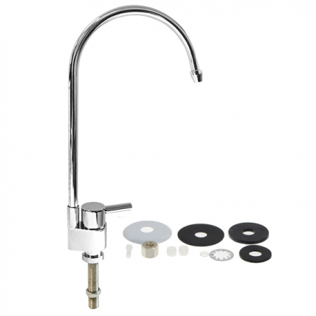 Reverse Osmosis Chrome Plated Kitchen RO Drinking Water Filter Faucet Tap