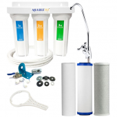 Under Sink 3 Stage Fluoride Removal Filter System