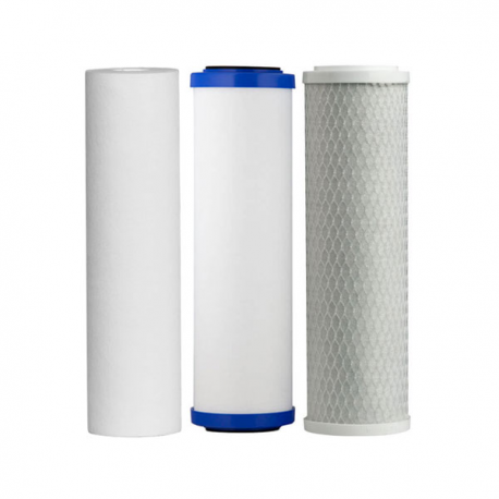 Under Sink 3 Stage Fluoride Removal Filter Cartridges