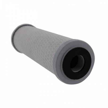 Pentek 155350 43 SCBC 10 - 1 Micron Silver Impregnated 9 3/4 Standard Carbon Taste & Odor
