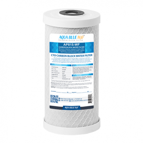 """Whole House Water Filter System Carbon 10"""" Big Blue replacement filter"""