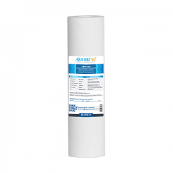 "Polyspun Sediment Water Filter Cartridge 5 Micron 10""x2.5"""