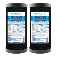 "Whole House Water Filter System Carbon Block 10""x4.5"" Replacement Filter"