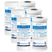 Compatible with Puretec WH2 30 Replacement Water Filter Cartridges PX05MP1 CB10MP110 inch