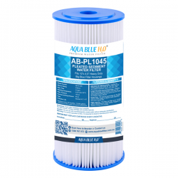 Compatible with Aqua Blue H20 PP Series PP05LD1 Polyester Pleated Sediment Cartridge, 10 inch, 5um