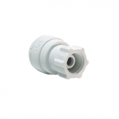 John Guest Polypropylene Fittings Tap Adaptor UNS Thread PP3208U7W  1/4 x 7/16-24