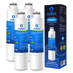 4x FINE100 Samsung DA29-00020B Replacement Fridge Water Filter