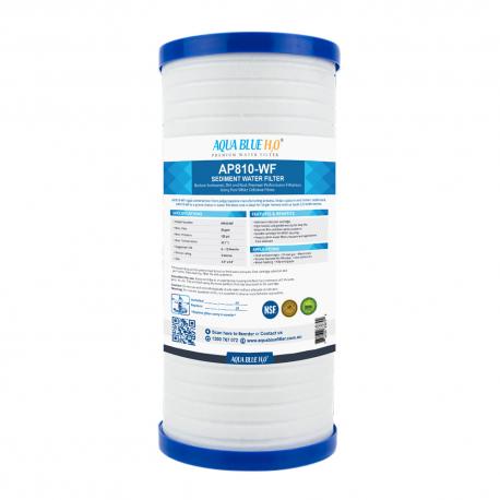 AQUA BLUE H2O AP810-WF 5 Micron AP810, AP810-1, 70020164177 fits to AP801 or AP801-1 System