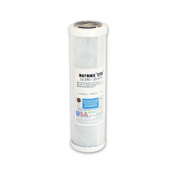 Matrikx + CTO/2 Coconut Water Filter 5 Micron 10 (CB-CTO-10)""