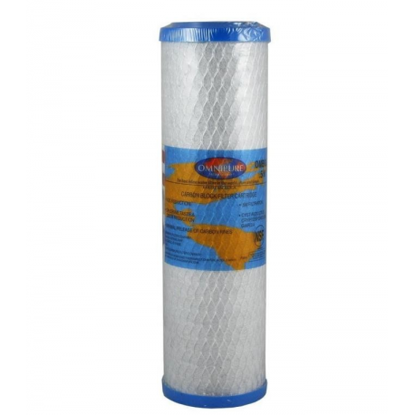 """Omnipure OMB934 0.5 Micron Coconut Carbon Block Water Filter 10"""""""