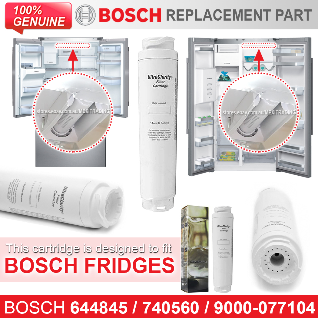 740560 Bosch Fridge Filters 4242004108528 Ebay