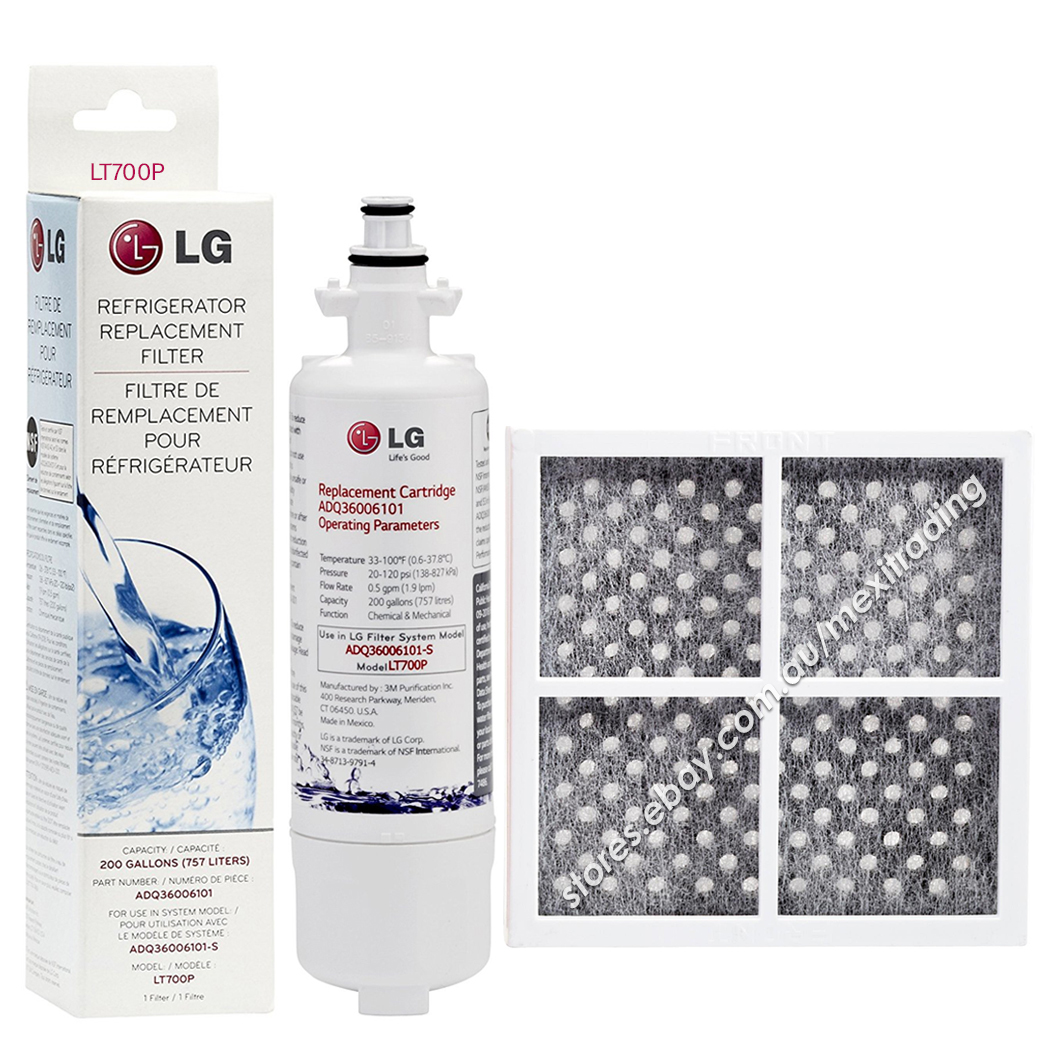 LG  GENUINE FRIDGE FILTER PART ADQ36006101 //LT700P GR-L219CPL.APVRGAP GR-L219CPL