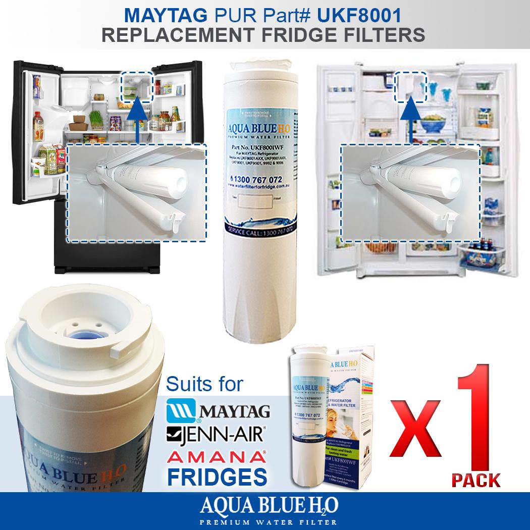 4X Refrigerator Water Filter for Jenn Air JFI2089AES