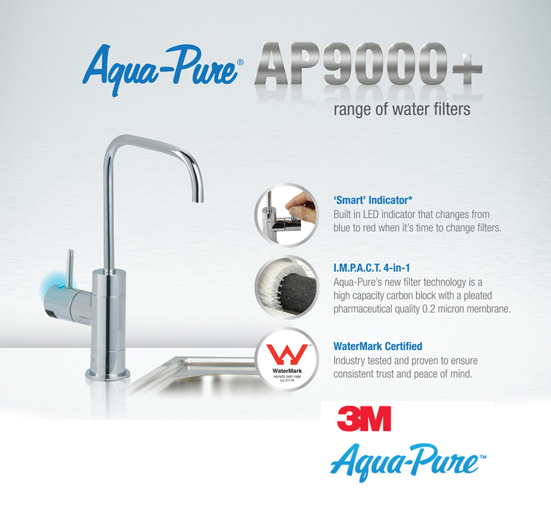 Aqua-Pure AP9000+ Drinking water filter system with dedicated filter tap  AK200125800